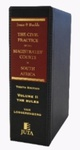 Jones & Buckle The Civil Practice of the Magistrates' Courts in South Africa (Volume II: The Rules)