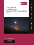 Guidelines in terms of the Disaster Management Act 57 of 2002 2e