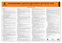 Occupational Health & Safety Act 85 of 1993 (Poster) (2019)