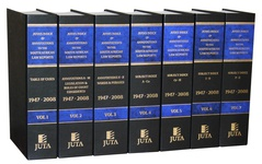 Index and Annotations to the South African Law Reports, Juta's