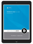 Children's Act 38 of 2005 & Regulations (eBook)