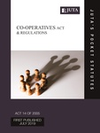 Co-Operatives Act 14 of 2005 & Regulations 1e