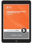 Preferential Procurement Policy Framework Act 5 of 2000 & Regulations (eBook)