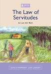 Law of Servitudes, The (Print)
