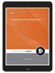 Restitution of Land Rights Act 22 of 1994 & Rules (eBook)