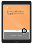 Prevention and Combating of Corrupt Activities Act 12 of 2004 & Regulations (eBook)
