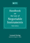 Handbook on the Law of Negotiable Instruments