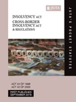 Insolvency Act 24 of 1936, Cross-Border Insolvency Act 42 of 2000 & Regulations