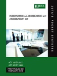 International Arbitration Act 15 of 2017;  Arbitration Act 42 of 1965