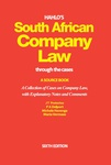 Hahlo's South African Company Law Through the Cases (eBook)