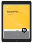 Basic Conditions of Employment Act 75 of 1997 & Regulations 2e (eBook)