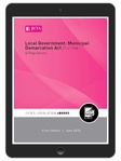 Local Government: Municipal Demarcation Act 27 of 1998 (eBook)