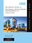 Sectional Titles Act 95 of 1986; Sectional Titles Schemes Management Act 8 of 2011 & Regulations 4e