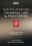 South African Criminal Law and Procedure - Volume I: General Principles of Criminal Law (soft cover)