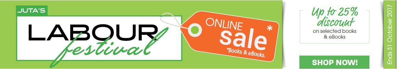 Juta's Labour Festival Online Sale