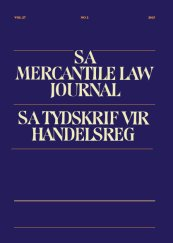 SA Mercantile Law Journal