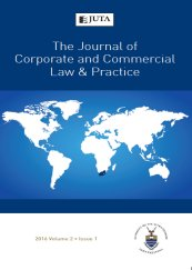 Journal of Corporate and Commercial Law and Practice